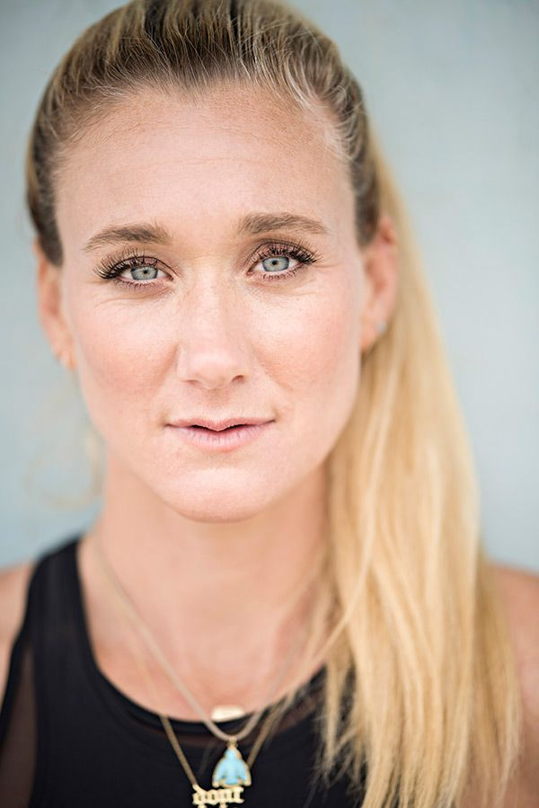 Kerri Walsh Jennings draws a line in the sand