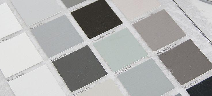 cartella-colori - ricolora la tua casa con la chalk paint Vintage Paint  - www.vintagepaint.it