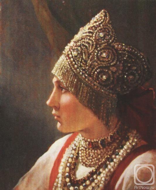 Андрей Алексеевич Шишкин - Русская девушка
