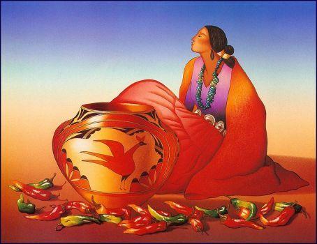 Zia Benita ~ RC Gorman (Navajo) (108 pieces)