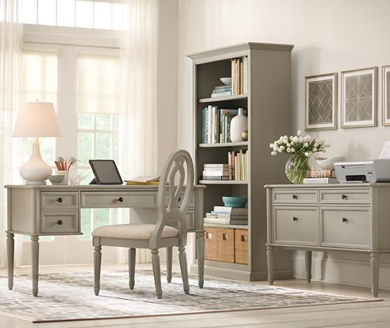 Study martha stewart living ingrid desk home for Martha stewart furniture