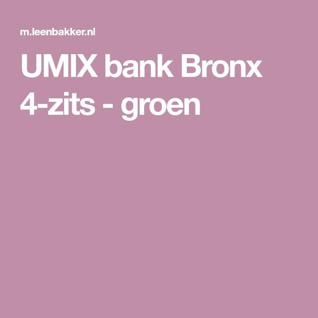 UMIX bank Bronx 4-zits - groen