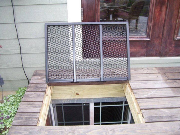 Best 25 Basement Window Well Covers Ideas On Pinterest