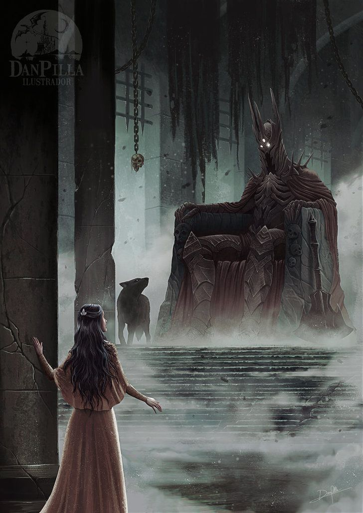 Collection of magnificent Middle-Earth illustrations along with detailed Lore