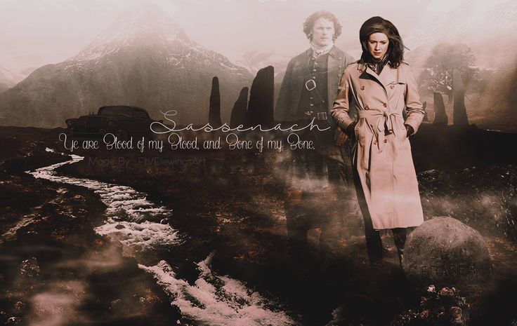 Jamie will always be with Claire, no matter where or when, as long as one of them lives.  But then if both have died they'll be together for always.