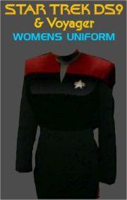Star Trek Deep Space Nine Womens Uniform