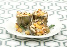 Carciofi ripieni di patate e crema al pecorino - Tutte le ricette dalla A alla Z - Cucina Naturale - Ricette, Menu, Diete