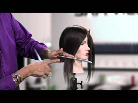 Creating an asymmetrical bob can be challenging and time consuming. Sam Villa shows you how to take the guessing game out of an asymmetrical bob by cutting a horizontal line instead of a diagonal line for maximum results with minimum effort.