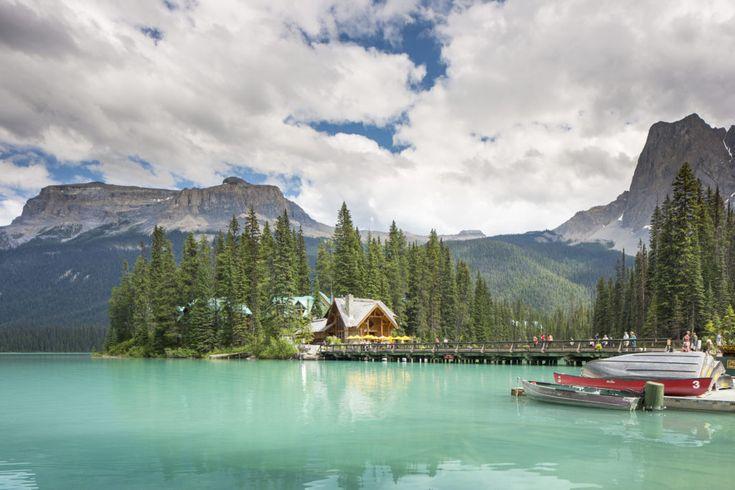 Unique BC lakeside retreats. Emerald Lake Lodge, in BC's Kootenay Rockies. Photo: Jason Dziver