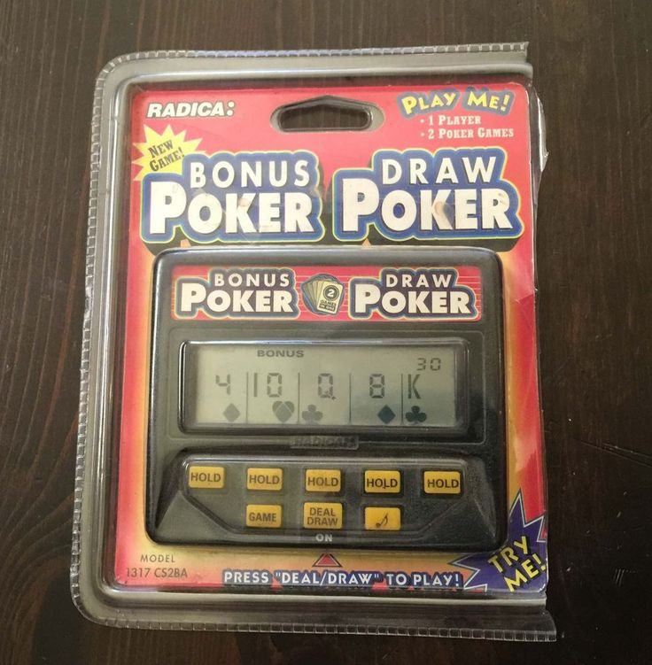 Poker 2 manual
