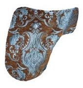Levade Baroque Brocade Dressage Saddle Cover $27.95. Many more unique saddle covers and matching saddle pads to choose from.