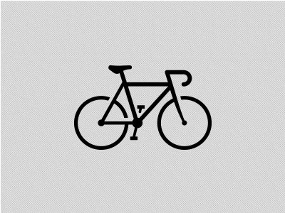 A new fixed-gear bike icon. Cycling Icons on Creative Market