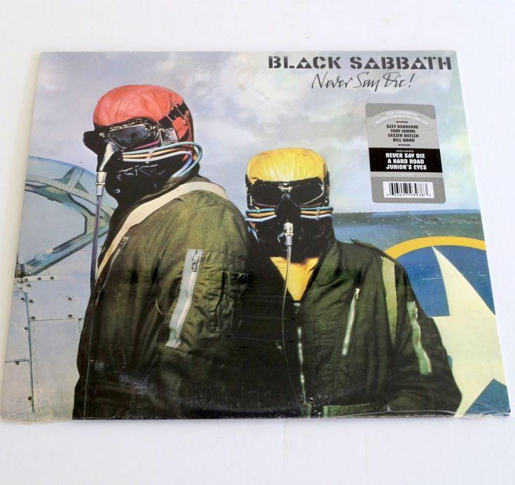 BLACK SABBATH never say die Lp SEALED VINYL Record , ozzy osbourne #HardRockPsychedelicRock