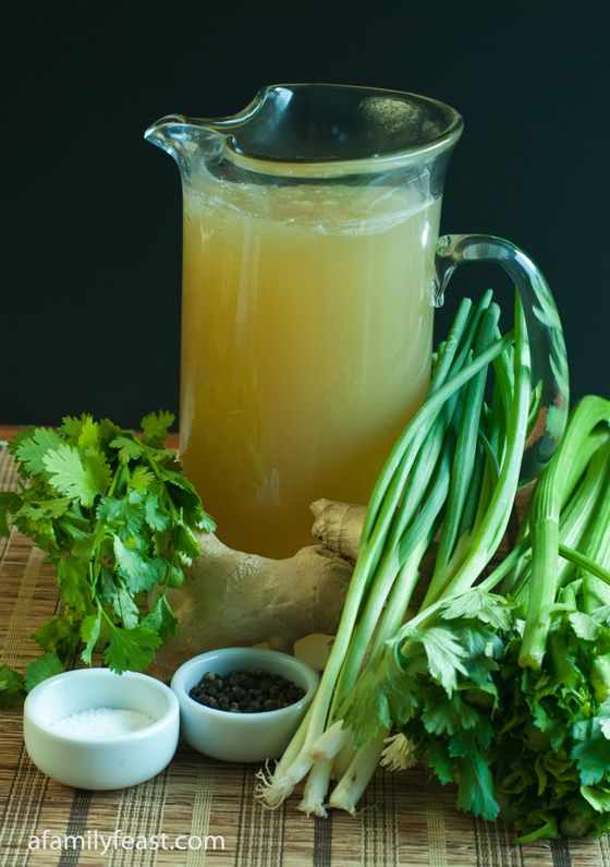Asian Chicken Stock chinese detox soup