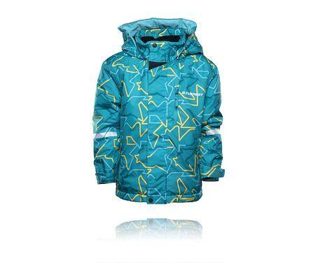 Skidjacka med varmt foder och vind- och vattentätt material som andas, EVEREST K CL SKI JKT.