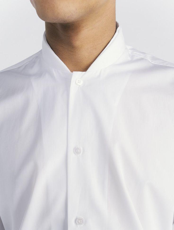 COMMON Ulrich baseball collar Shirt.