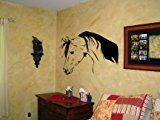 Horse Decal Arabian Pony Vinyl Wall Peel And Stick Decor 20 X 28 inches