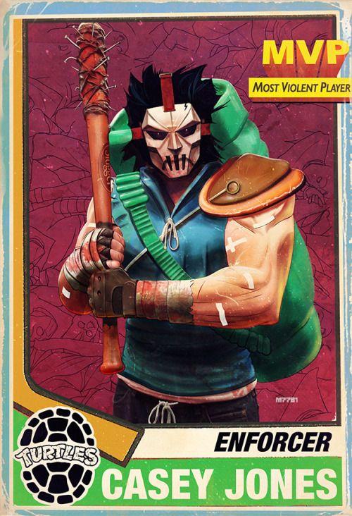 Teenage Mutant Ninja Turtles - Casey Jones by m7781