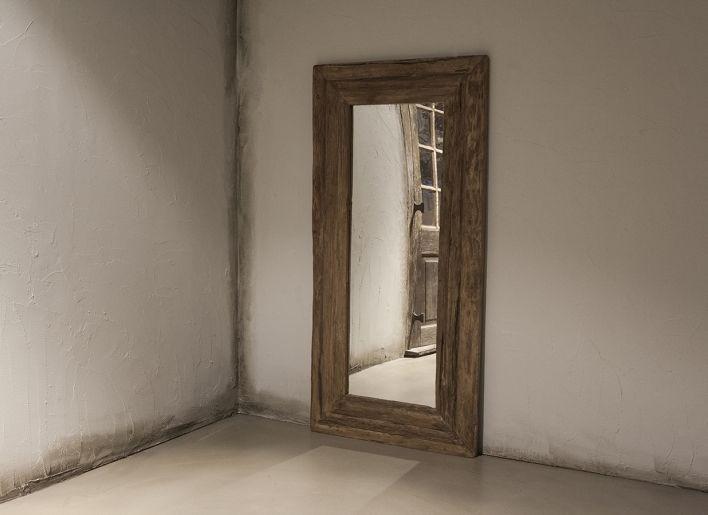 Originele oude houten spiegel small