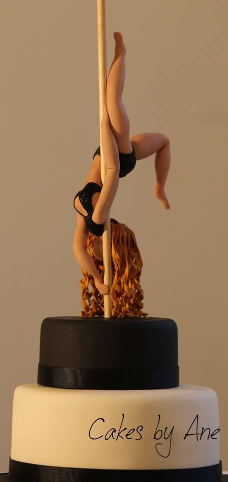Pole dancer cake                                                                                                                                                                                 More