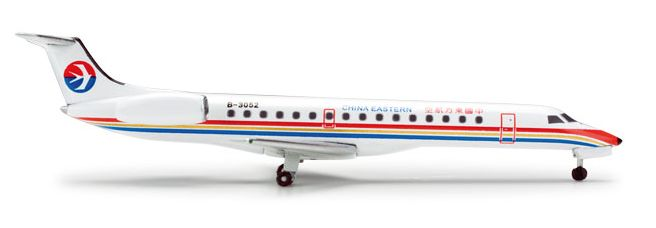"""1/500 Herpa China Eastern Airlines Embraer ERJ-145 Registration: B-3052 518253 SPECIAL ORDER - Item usually ships in 5-10 days. Length 2.35"""" Wingspan 1.57"""" Each model is very collectible and all regul"""