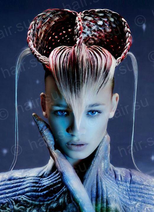Avant Garde Designer: Hair Hair And More Hair! :)