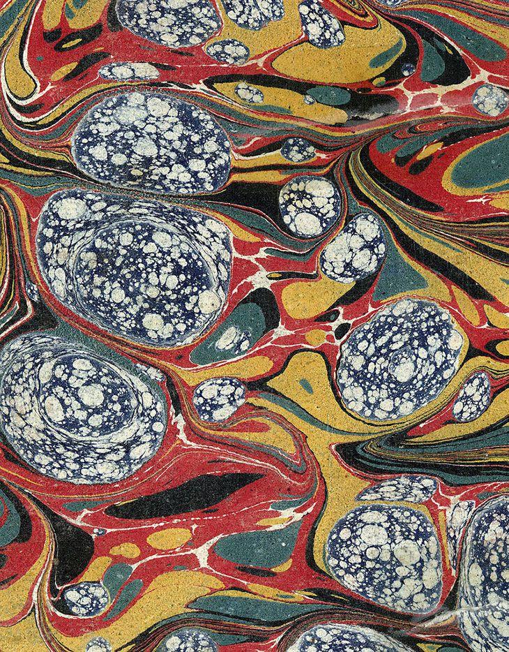 Páginas de papel marmorizado http://arteref.com/video/papel-marmorizado/