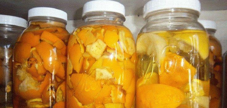 Cura pela Natureza.com.br: Desinfetante de casca de laranja limpa e deixa a casa com maravilhoso odor