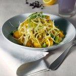 Ricetta Spaghetti con zucca e porri | Donna Moderna