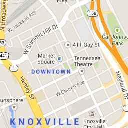 The University of Tennessee, Knoxville | Interactive Map