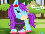 Free Online Girl Games, Help this cute little horse get a new look in Baby Bratz Pony Dressup!  Pick out adorable new clothes, stylish new hairstyles and much more as you try to find the best look for your new pony!  See how many different combinations of outfits you can create!, #pony #bratz #girl #dressup #animal #pet #dress