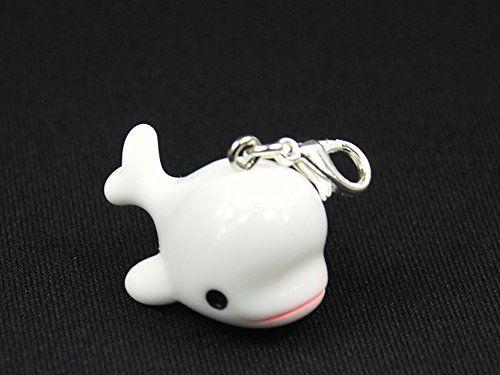 Balena Charm Zipper Pull ciondolo Miniblings balena Pott balena arcobaleno Bambino Bianco: Amazon.it: Gioielli