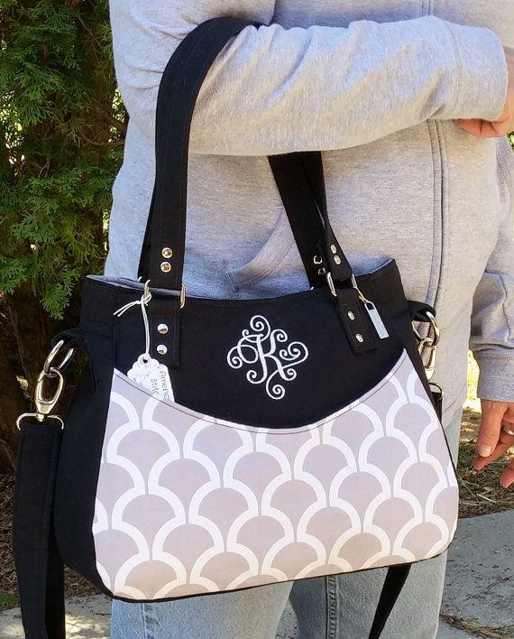 Monogrammed, Concealed Carry Purse, Cross Body Bag, Shoulder Bag, Purse, Handbag, Custom Order