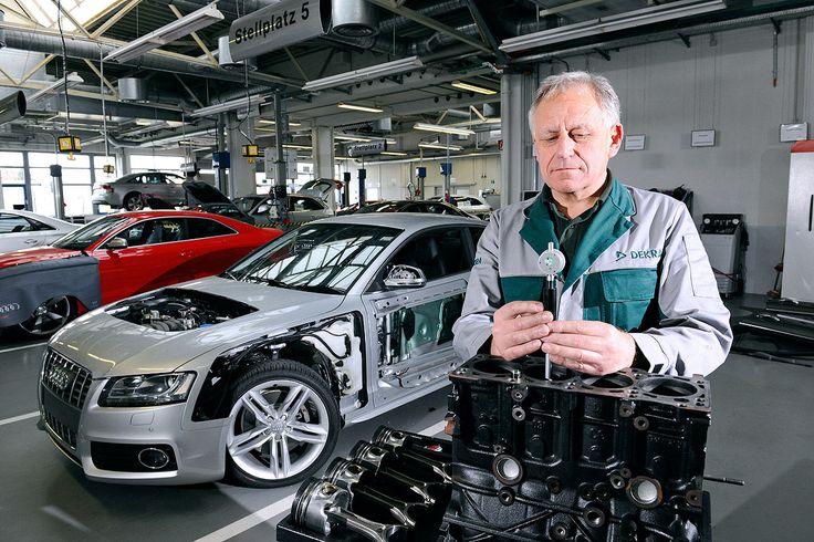 AUTO BILD-Dauertest, DEKRA-Sachverständiger Anton Schmdt