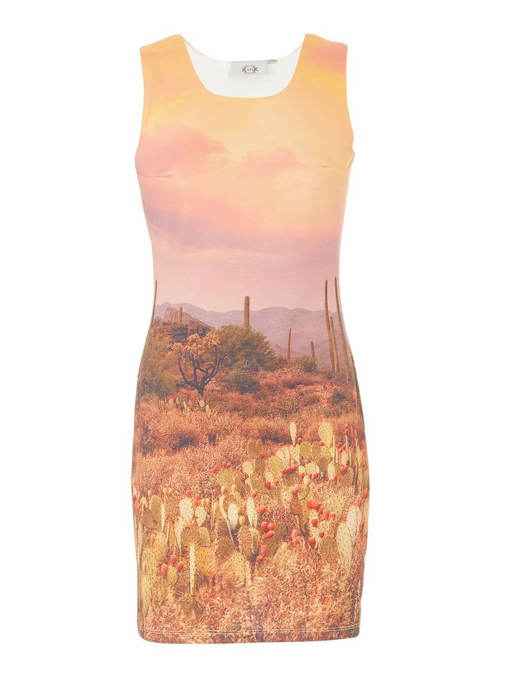 This photographic printed shift dresses is part of the summer range from Cape Town designer Anneen Henze (R799)