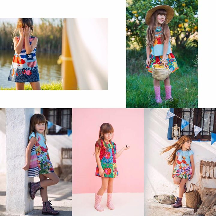 Rosalita Senoritas is a colorful brand for girls that give extra attention to the details, the high quality fabrics and the designs. Discover a collection that is characterized by beauty, magic, color and imagination for the little girls! ...