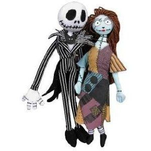 "From the Manufacturer                  Nightmare Before Christmas set of 2 ""Jack & Sally"" 7"" Plush is from the mind of Tim Burton. The plush is from halloween to christmas. This is a great gift for children during Christmas holidays from Neca."