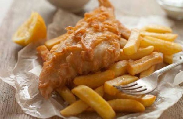 Fish and Chips from Red Onion in Glasgow Restaurants - Best Comfort Food Dishes