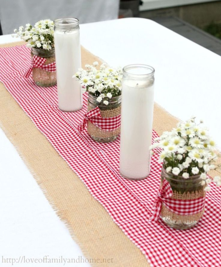 Inexpensive jar candles from the dollar tree