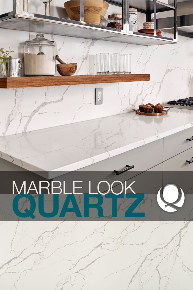 Introducing our newest white marble look-alikes in our Q Premium Natural  Quartz Countertop Collection. These gorgeous designs take a style cue from  ...