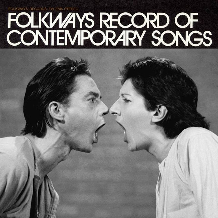 Ulay & Abramovic: Folkways Record of Contemporary SongsMarc Fischer
