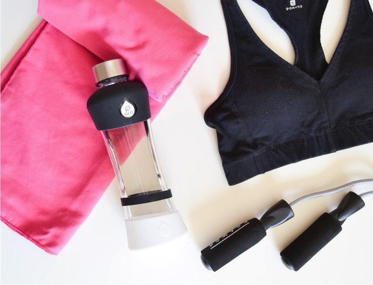 Get active with EQUA ACTIVE Black!  #sports#workoutroutine#hydration#glassbottle#water#equabottles#myequa#equa
