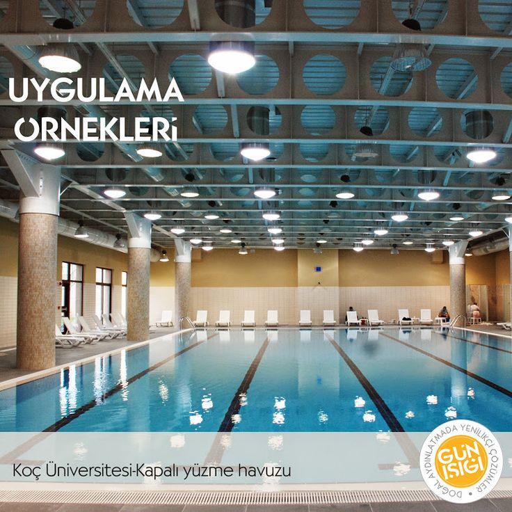 Koç Üniversitesi kapalı yüzme havuzu projesi