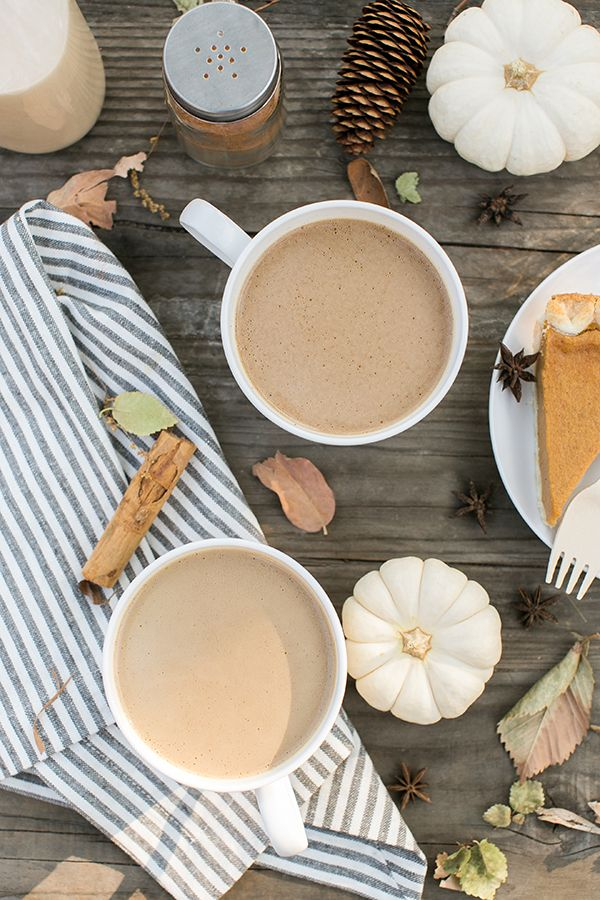 Warm Coconut Cream Pumpkin Pie Coffee
