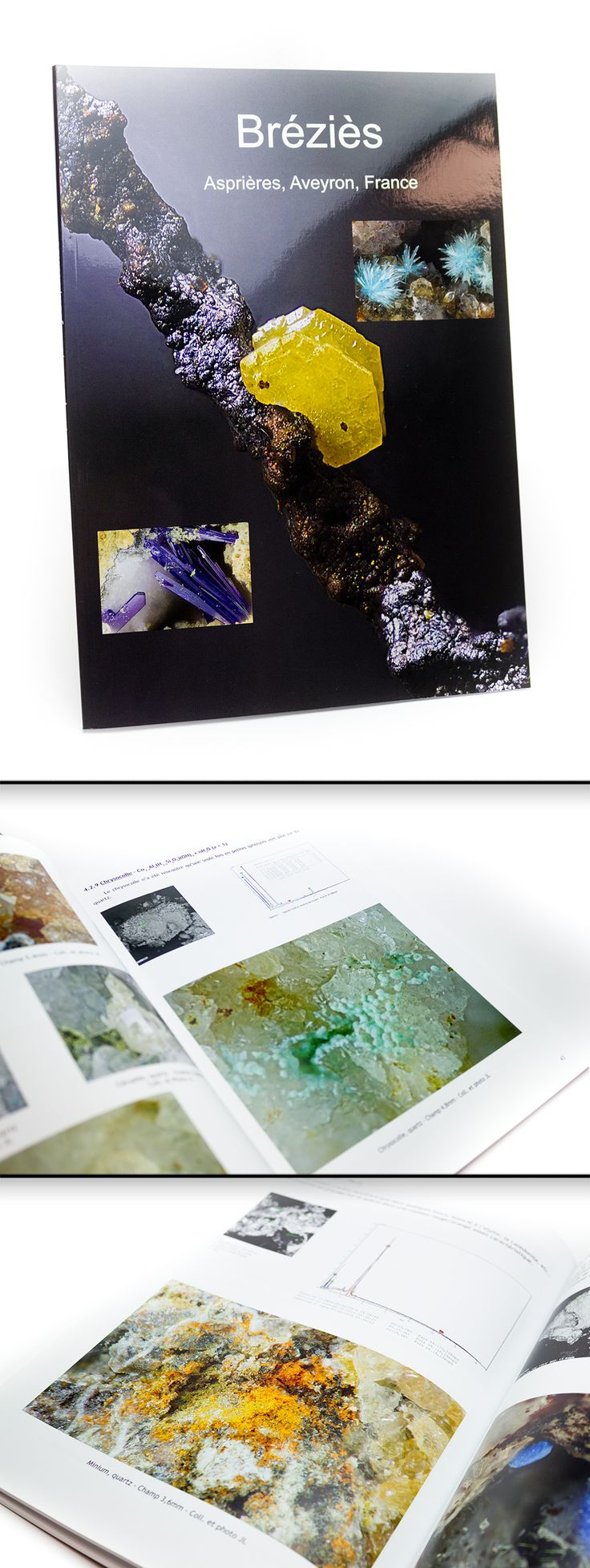 Livre en A4 / Couverture quadri sur Couché Satiné 300gr + pelliculage Brillant / Intérieur quadri sur Couché Satiné 150gr #cover #quadrichromie