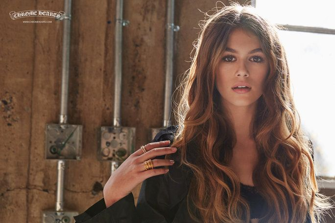 See Cindy Crawford's Gorgeous Daughter, Kaia Gerber, in Her Latest Modeling Campaign