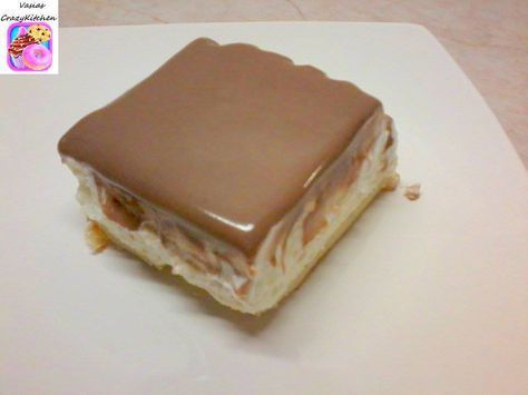 Εκλερ cake !!! Θεικό !! ~ ΜΑΓΕΙΡΙΚΗ ΚΑΙ ΣΥΝΤΑΓΕΣ