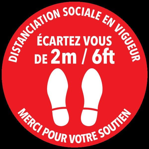 Pin On Social Distancing Floor Stickers Covid 19