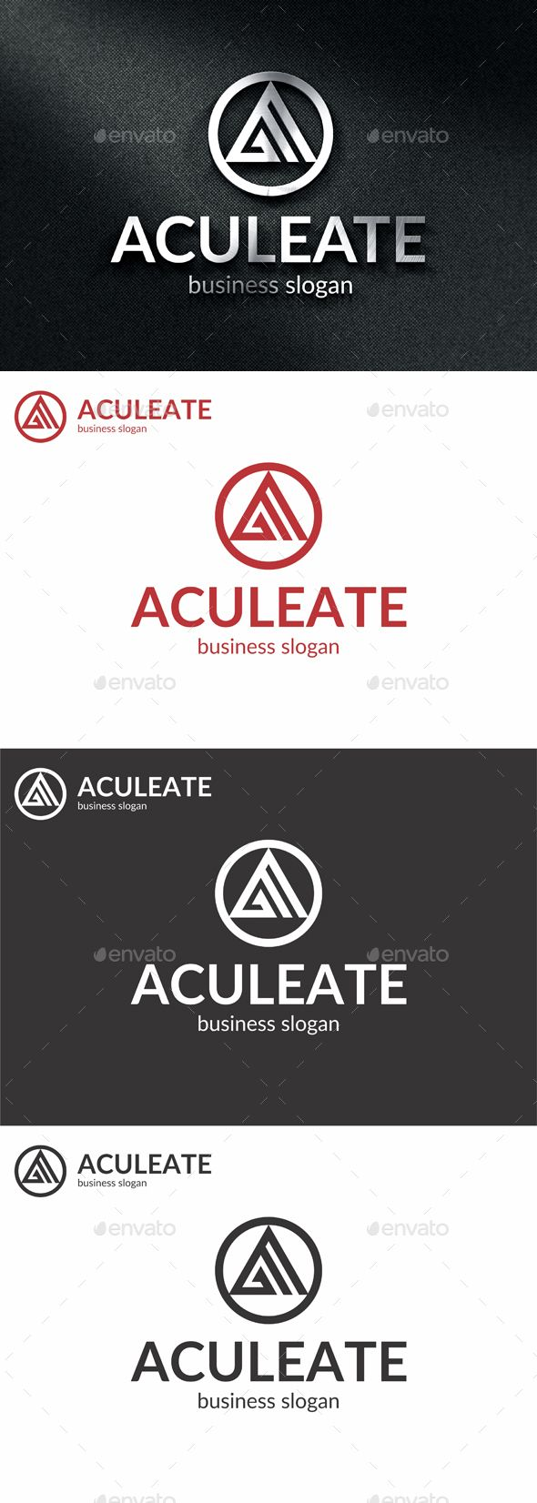 Aculeate A Letter Logo - Letters Logo Templates