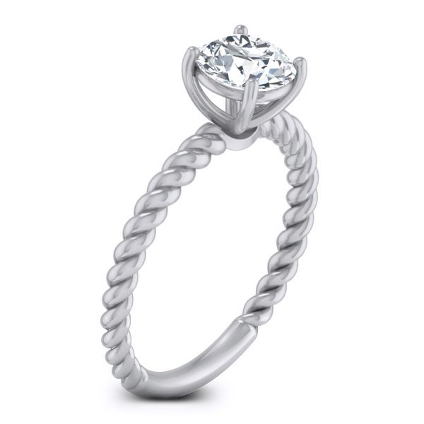 Aura Solitaire Ring solitaire ring